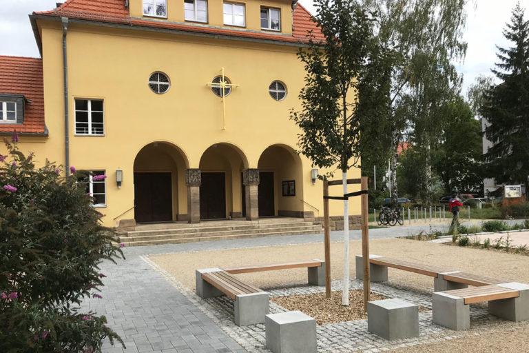 Vorplatz Hoffnungskirche