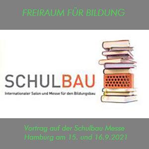 Schulbaumesse Hamburg des Cubus Medien Verlag 15.9.2021 und 16.9.2021